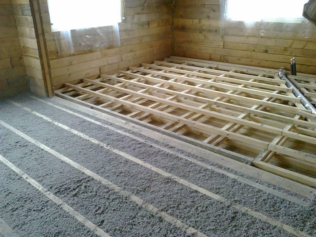 Виды и характеристики материалов для утепления деревянного пола