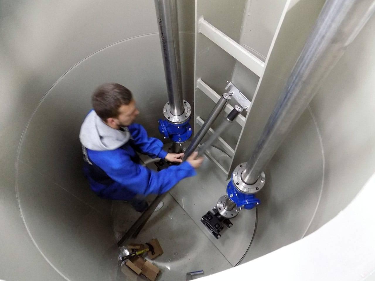 Установка канализационных станций: автоматическая насосная станция