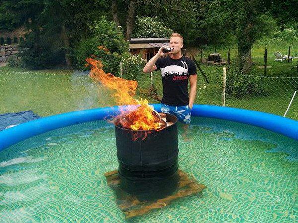 Водонагреватель для бассейна своими руками - как сделать