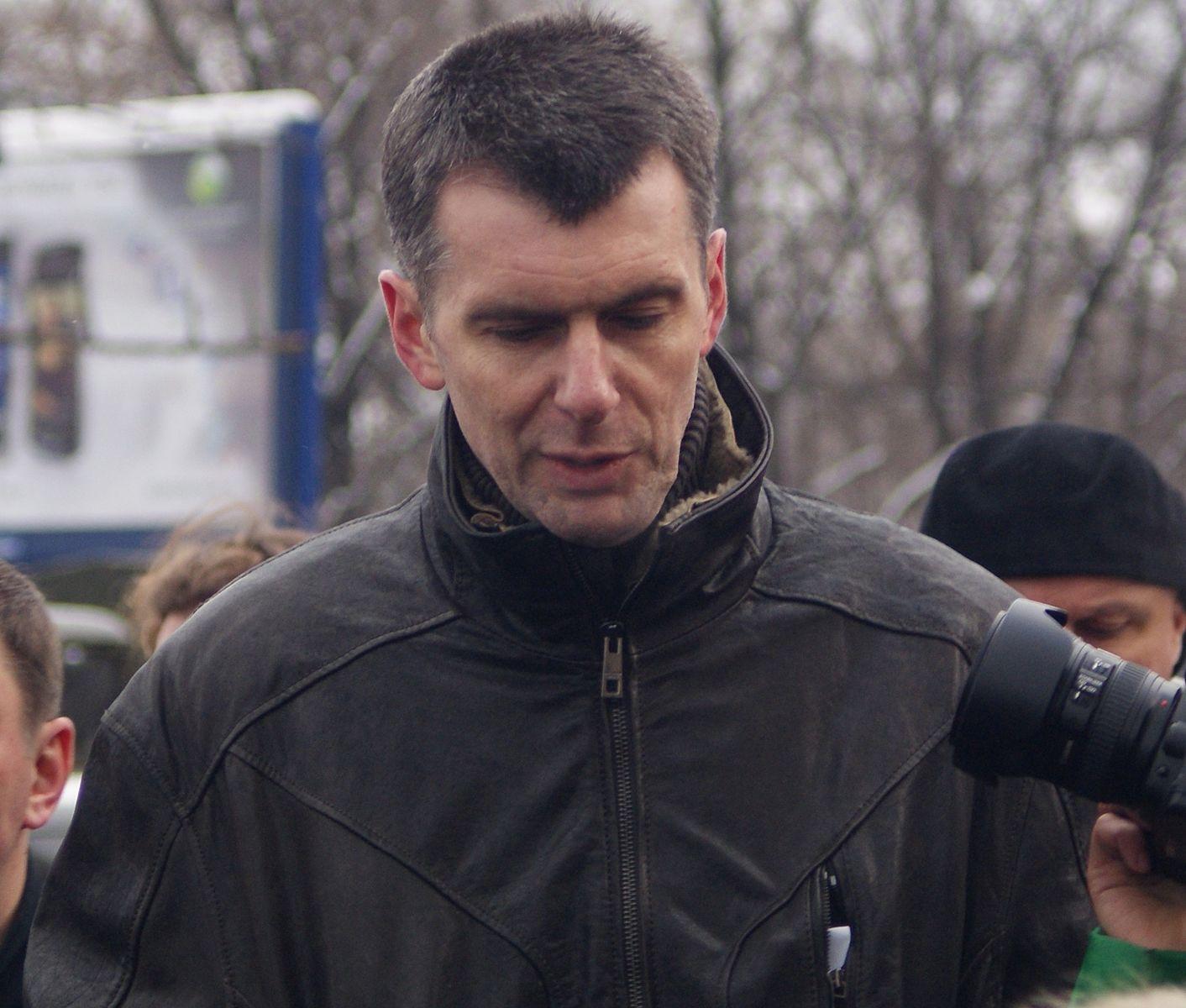Михаил прохоров: биография, личная жизнь, семья, жена, дети