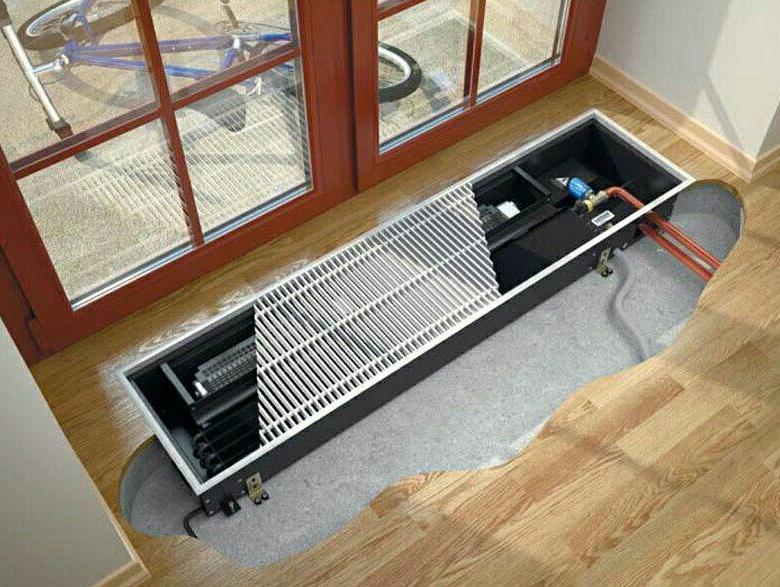 Конвекторные обогреватели для отопления витражей