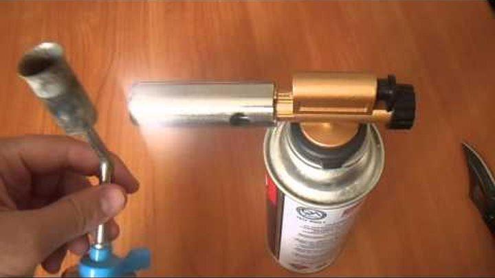 Пьезоподжиг для газовой горелки своими руками - сварка, пайка, металлообработка
