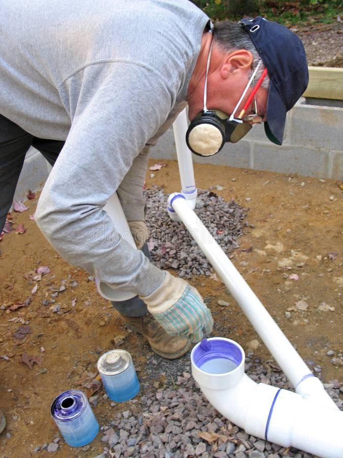 Как подобрать правильный клей для труб пвх + технология склеивания труб