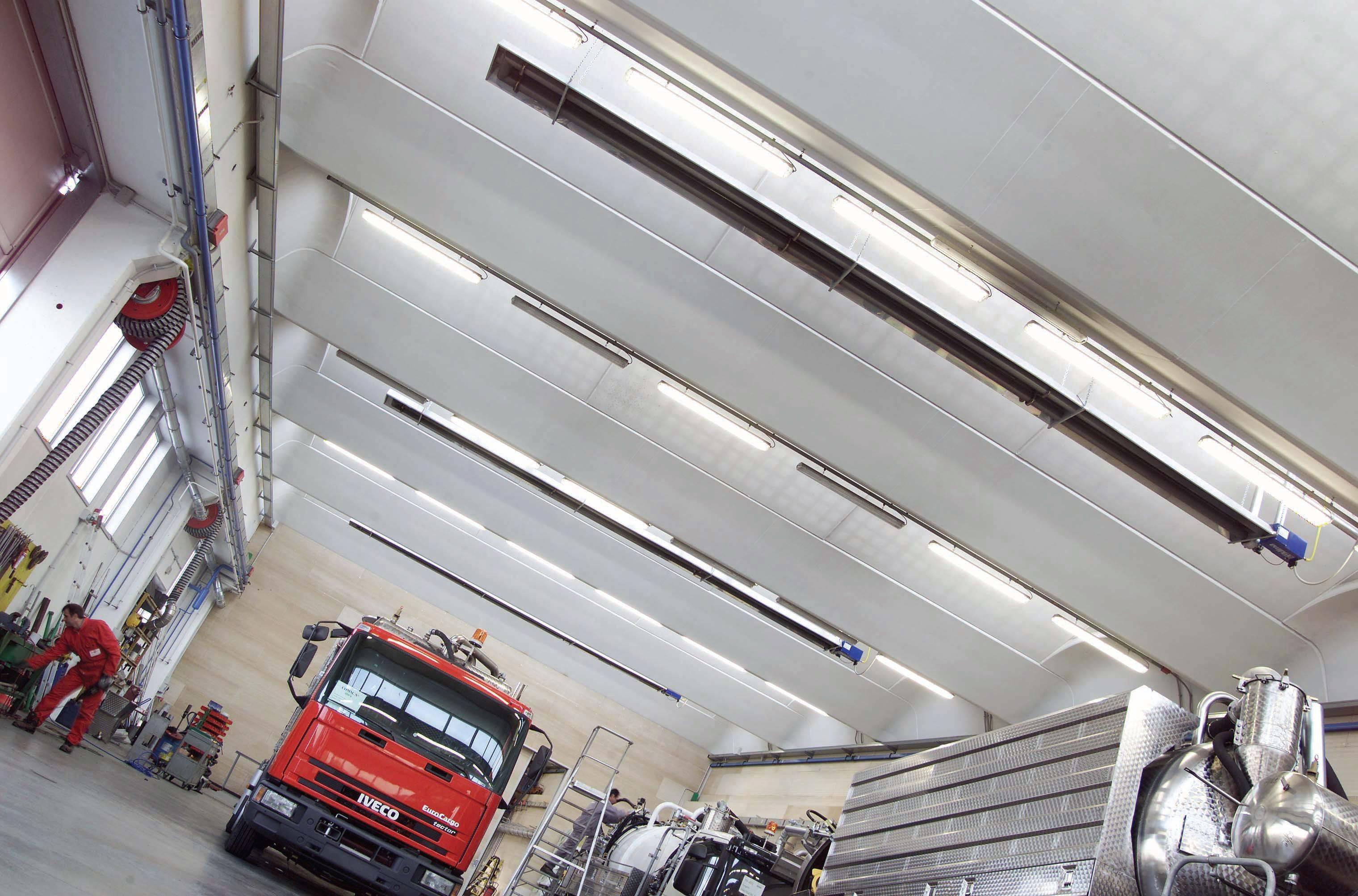 Инфракрасные обогреватели промышленные потолочные - лучшее отопление