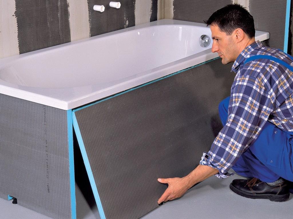 Шумоизоляция стальных ванн: необходимые материалы и способы монтажа