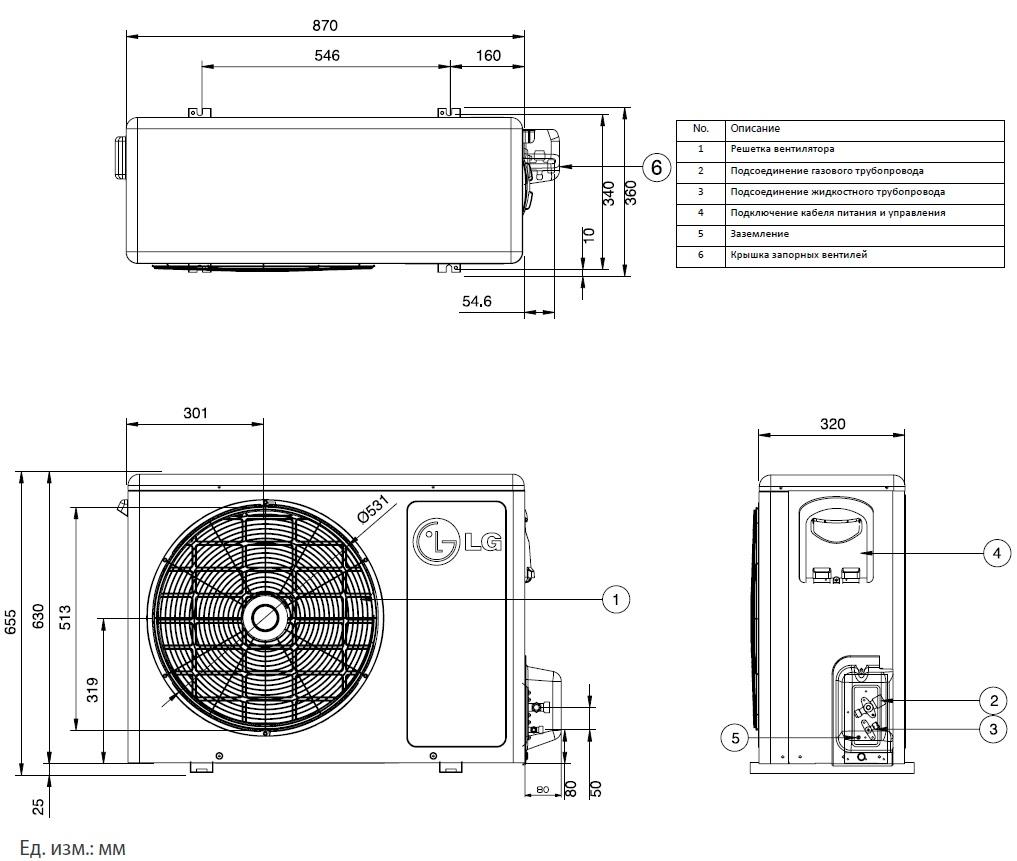 Наружный блок кондиционера (33 фото): размеры внешних блоков сплит-системы. их устройство и вес. из чего состоит блок? его схема