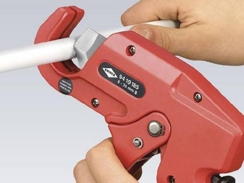 Ножницы для полипропиленовых труб: устройство, характеристики, эксплуатация