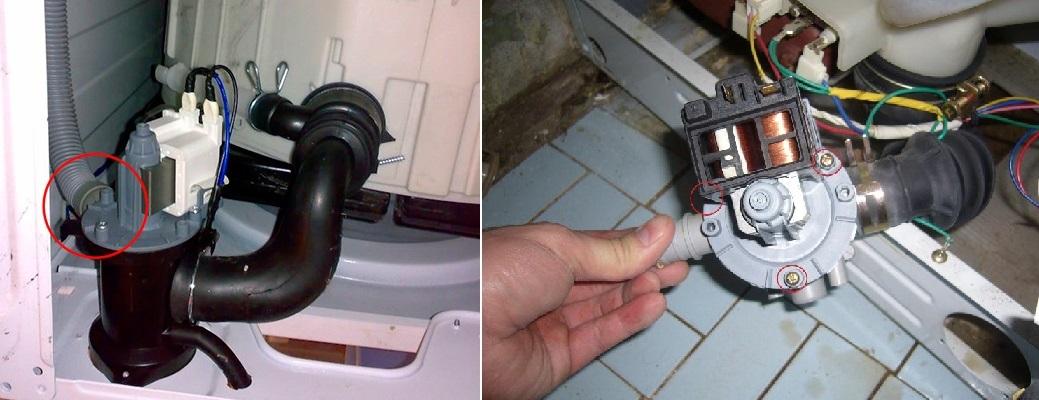 Как проверить сливной насос в стиральной машине. 4 совета, чтобы избежать поломки помпы