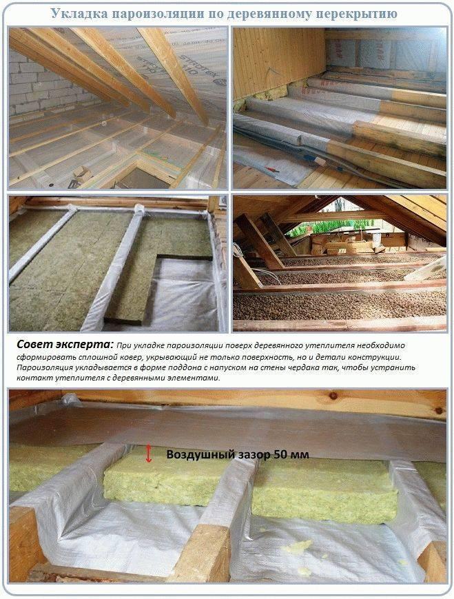 Утепляем полы в доме из дерева