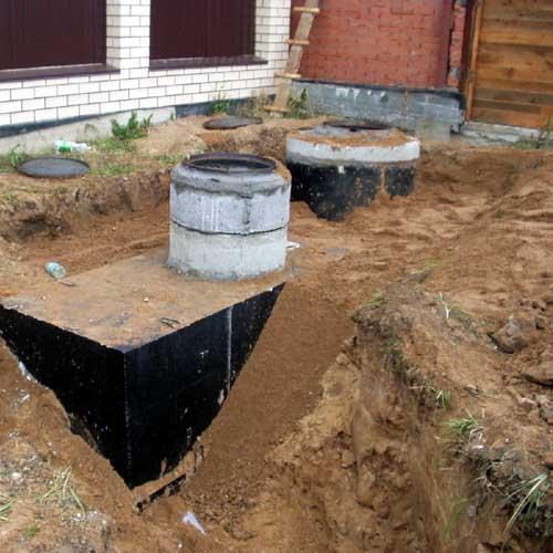 Установка колодцев канализации: монтаж и нормы. 5 этапов
