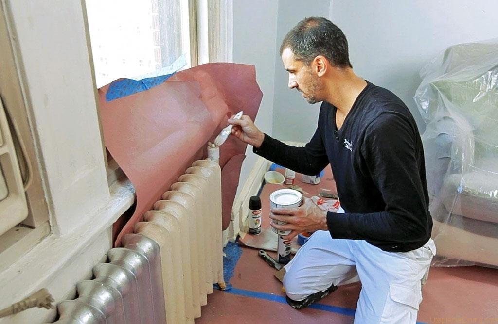 Как покрасить батарею отопления: пошаговая технология покраски радиаторов