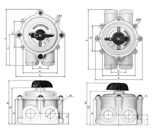 Пакетный выключатель схема подключения - всё о электрике