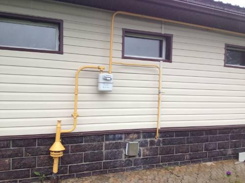 Подключение газа к частному дому — монтаж и ввод систем газоснабжения