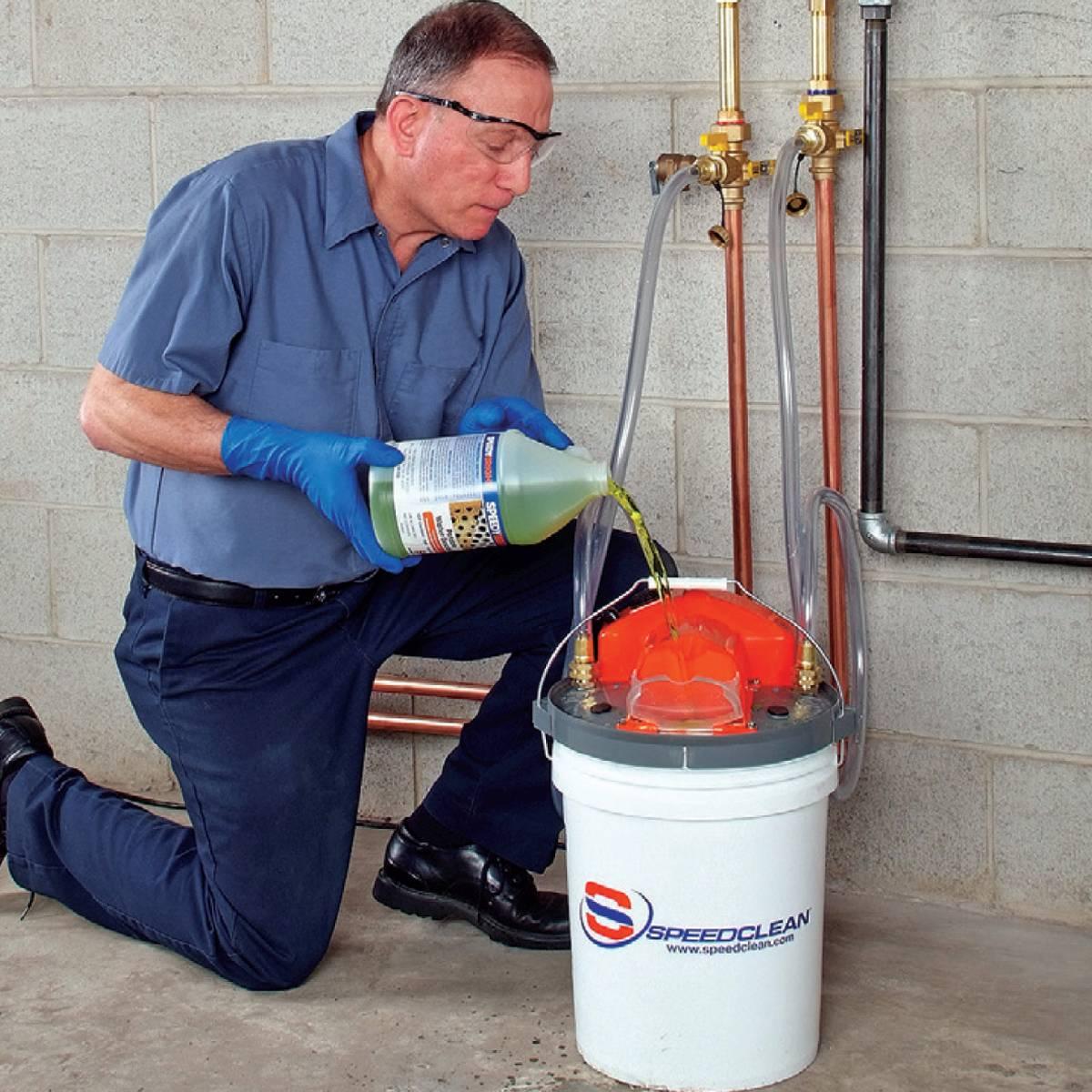 Промывка газовых котлов своими руками: основные способы чистки теплообменников