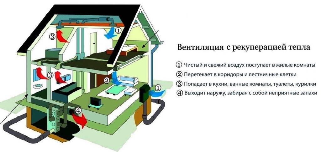 Рекуперация тепла в системах вентиляции: типы рекуператоров, критерии выбора теплоносителей