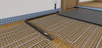 Инфракрасный карбоновый теплый пол — устройство типы монтажа