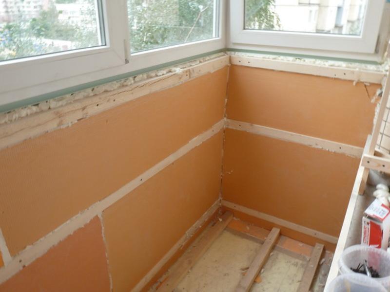 Как утеплить балкон изнутри своими руками - пошаговая инструкция!