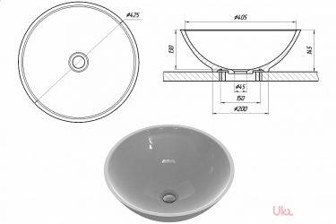 Накладная раковина на столешницу в ванную комнату: виды и установка