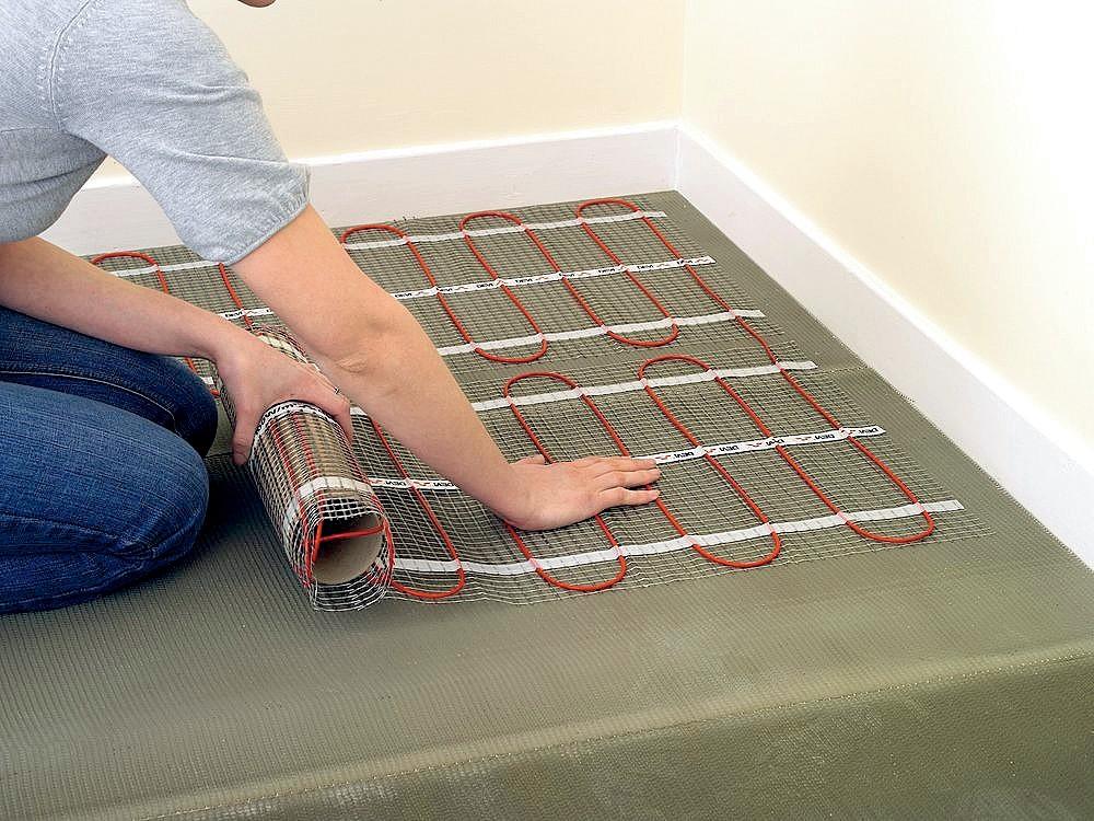 Электрический теплый пол: какой лучше выбрать, пленочный, инфракрасный или кабельный, фото и видео