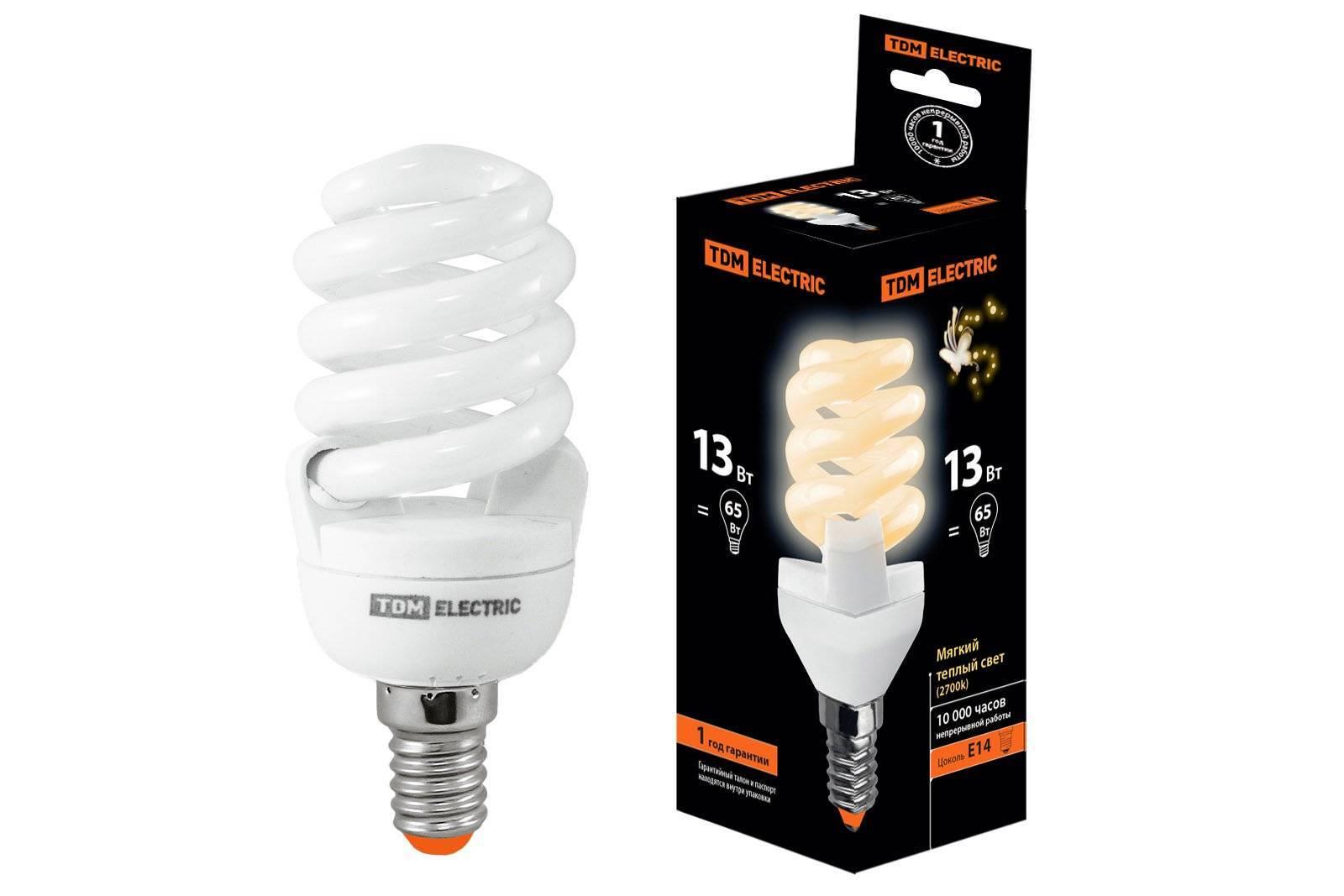 Все виды люминесцентных ламп