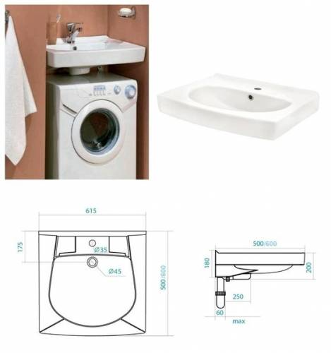 Раковина над стиральной машиной (125 фото): «кувшинка» над машинкой, модель со столешницей и плоская, с тумбой для ванной, размеры и материалы, отзывы об использовании