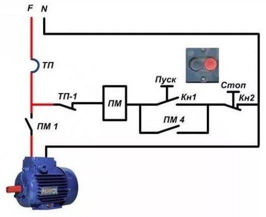 Как подключить магнитный пускатель на 380 - всё о электрике в доме