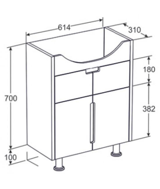 Высота раковины в ванной стандарт: оптимальные размеры