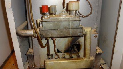 Почему тухнет газовый котел