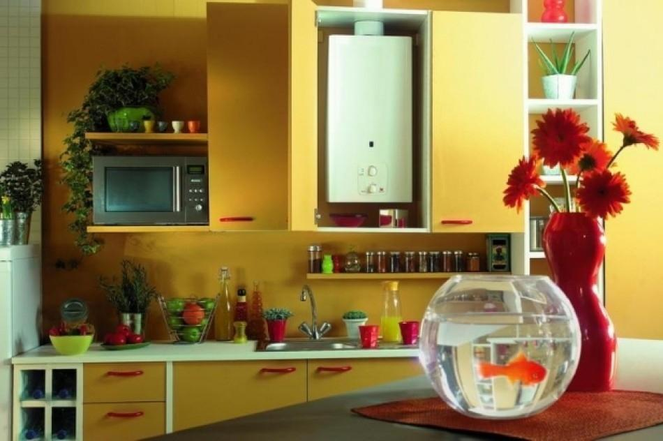 6 советов, как спрятать газовую трубу на кухне + фото   строительный блог вити петрова