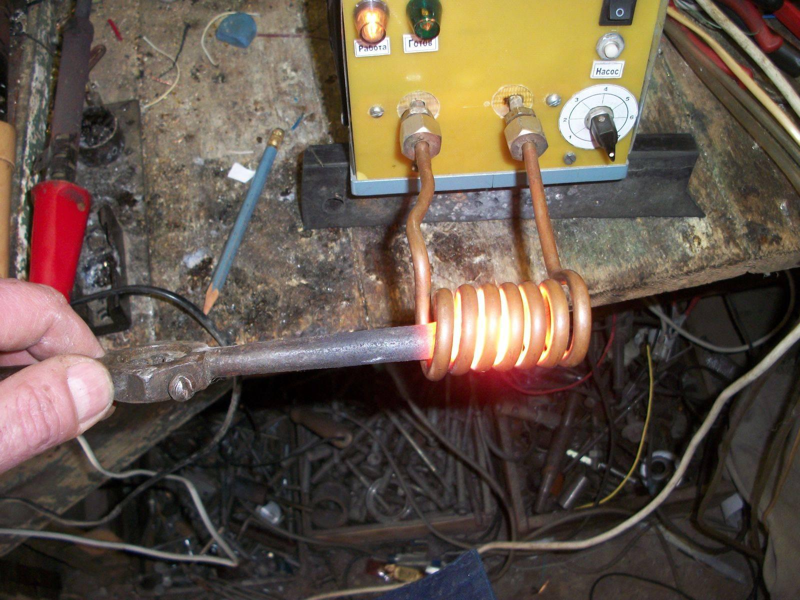Индукционный нагреватель из сварочного инвертора