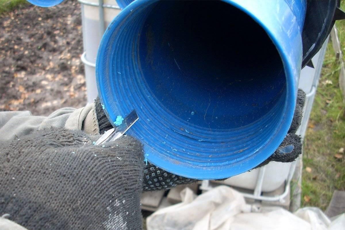 Напорные и безнапорные асбестоцементные трубы: выбор и установка