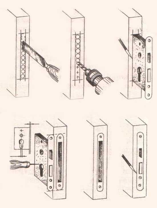 Защелки для межкомнатных дверей: устройство дверных врезных замков с фиксатором. как установить и разобрать бесшумные защелки?