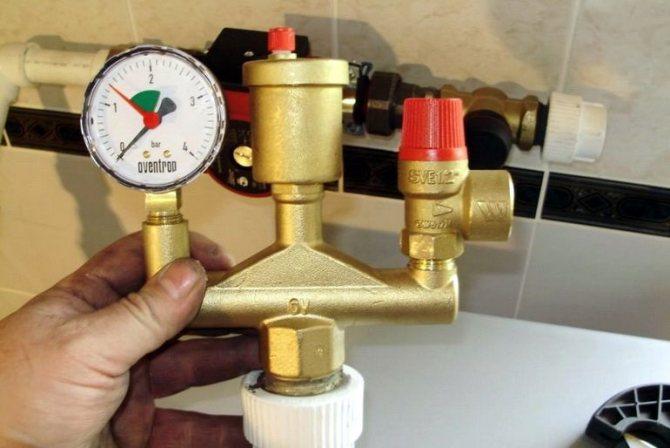 Давление в системе отопления в частном доме - какое нормальное и причины падения
