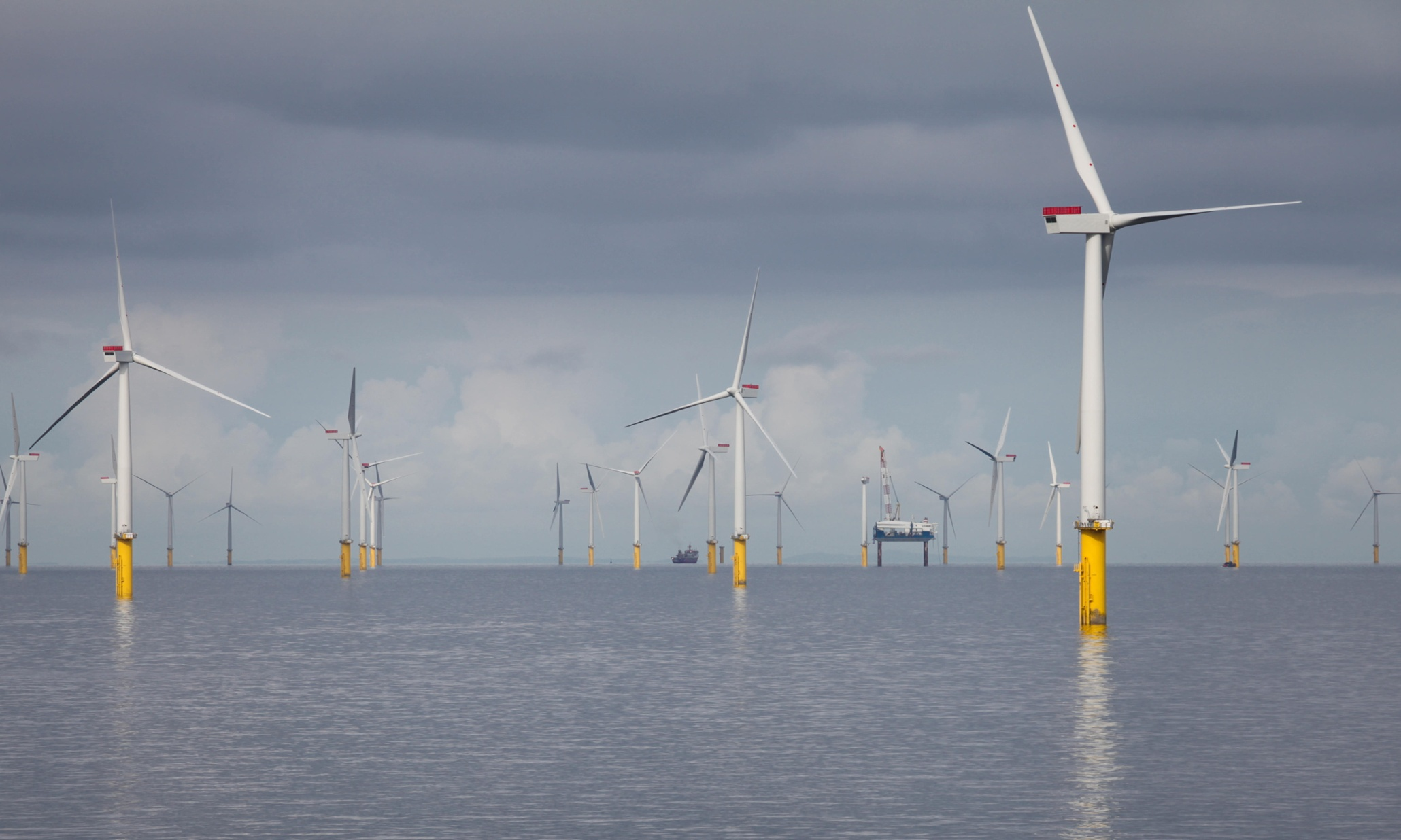 В Германии построили самую высокую ветряную электростанцию в мире