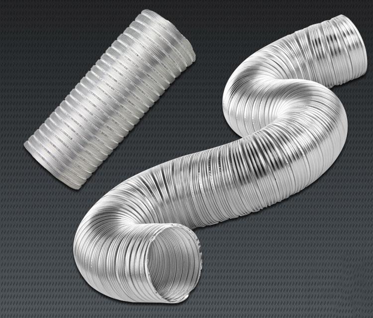 Гофра для вытяжки на кухне (гофрированная труба): диаметр (мм)