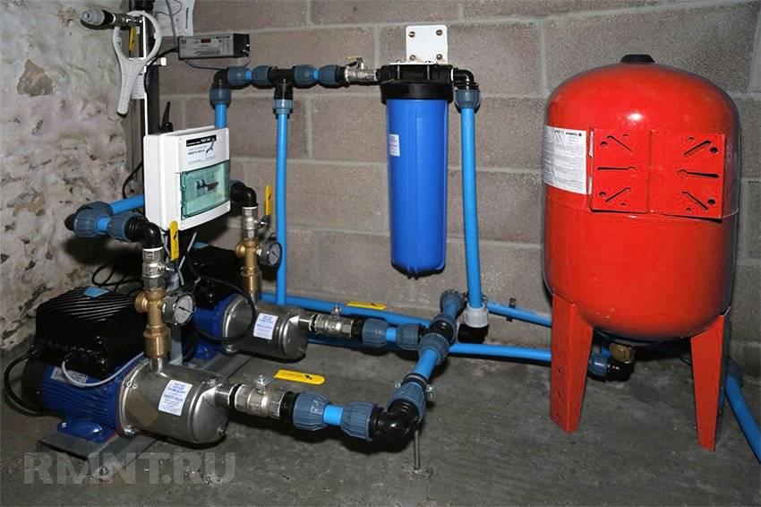 Давление воды в водопроводе - нормативы, способы повышения и понижения