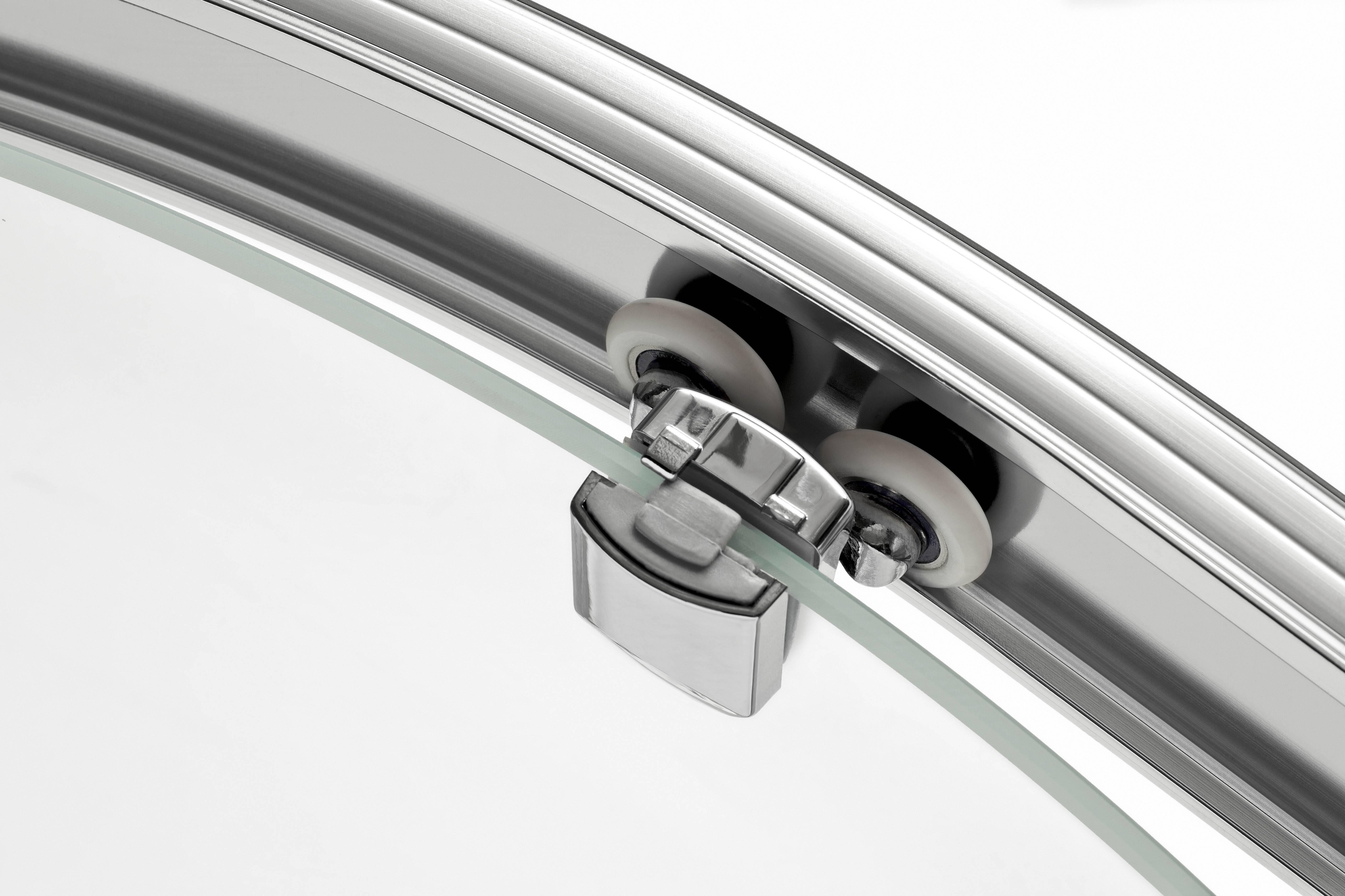 Двери для душевой кабины в нишу, установка без поддона, размер открывающейся стеклянной дверцы, ремонт, регулировка своими руками