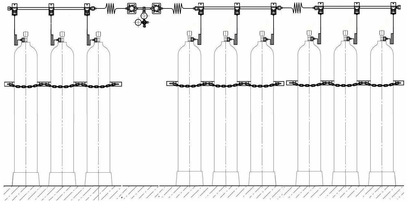 Рампа для газовых баллонов своими руками – все о газоснабжении