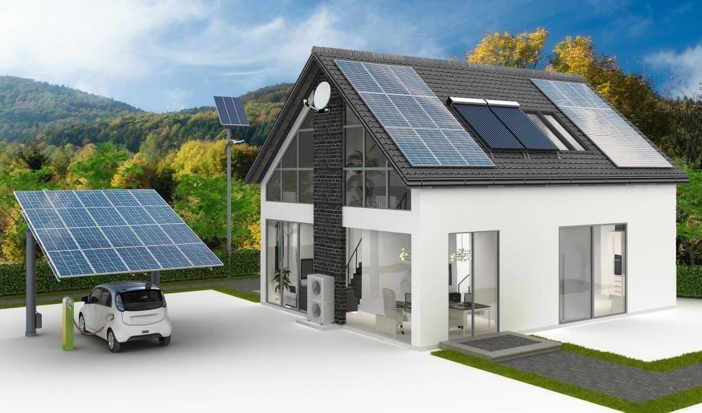 Солнечное отопление частного дома: обзор лучших конструкций - точка j