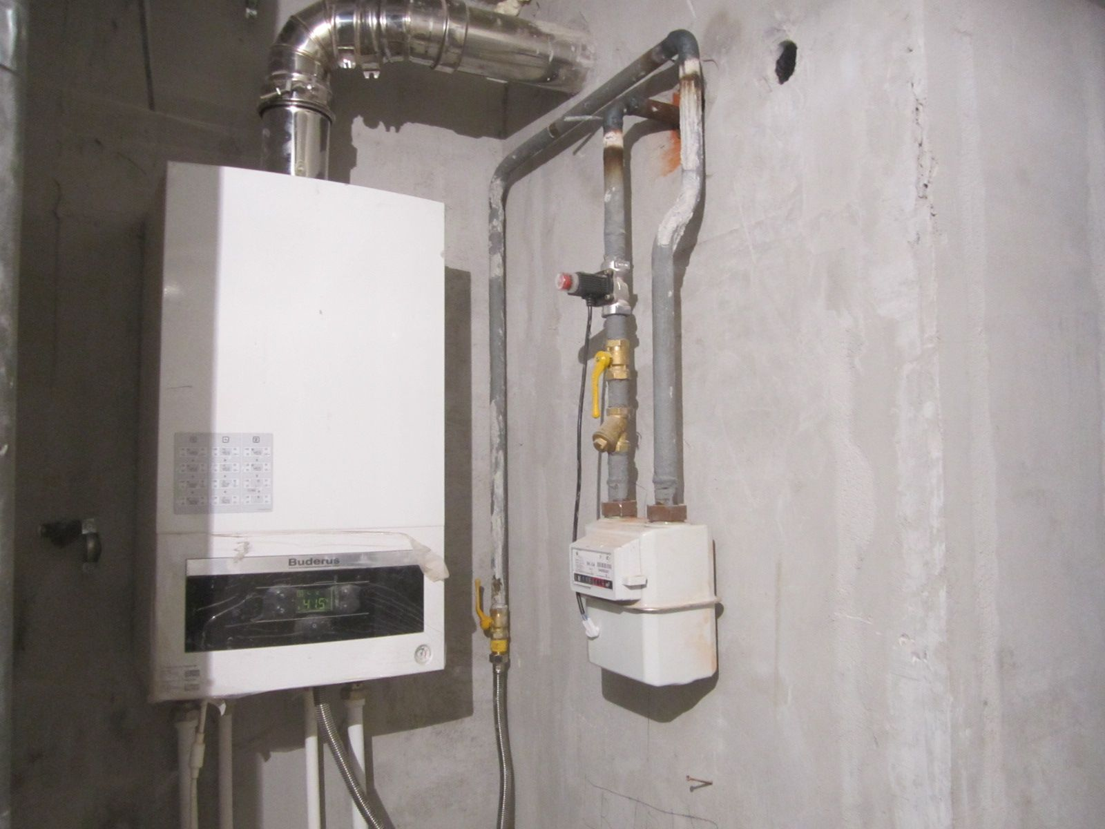 Перенос газового котла в частном доме главная