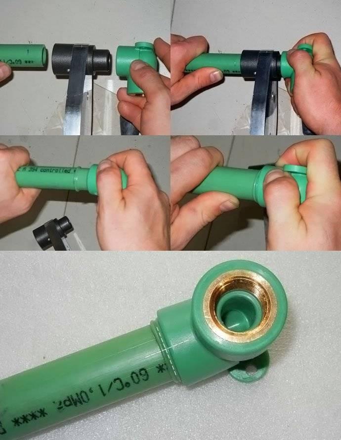 Как самостоятельно соединить металлопластиковую трубу с полипропиленовой