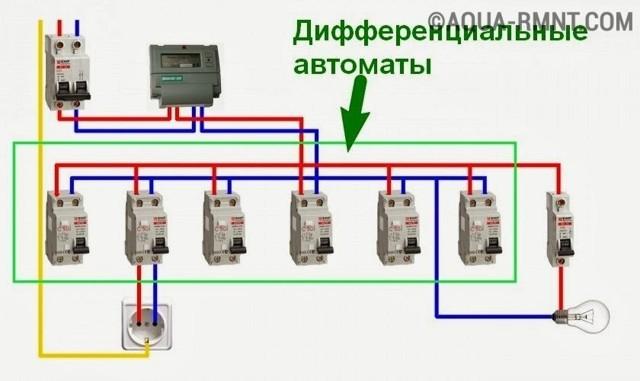 Как правильно установить дифавтомат: схемы подключения и их особенности