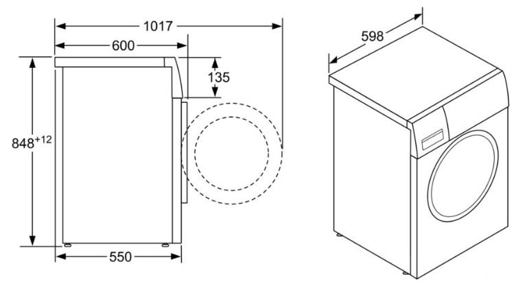 Размеры стиральных машин автомат и другие параметры влияющие на выбор техники