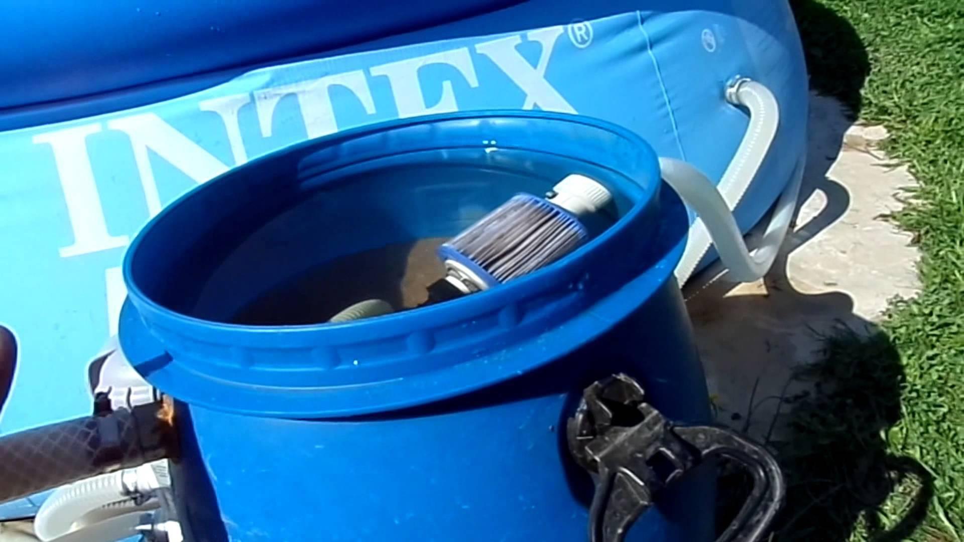 Как сделать песчаный фильтр для бассейна своими руками?