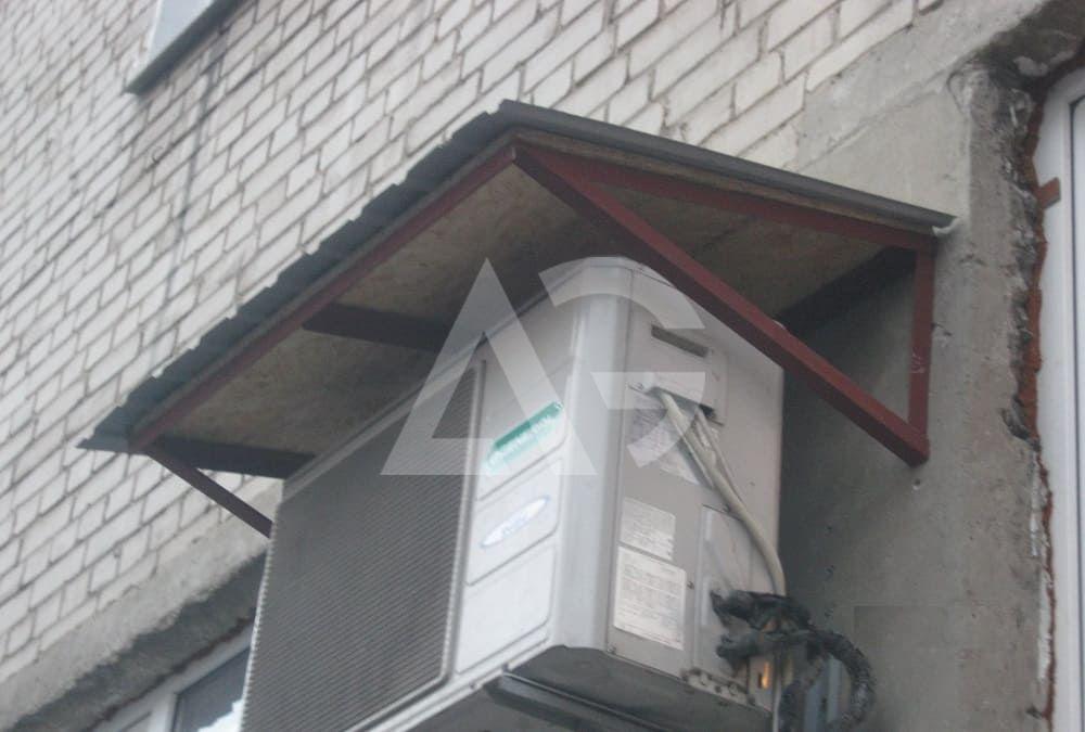 Козырек над воротами гаража: как сделать навес своими руками, инструкция с фото