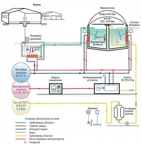 Биогазовая установка в домашних условиях
