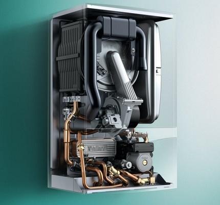 Как устроен турбированный газовый котел – принцип работы, преимущества и недостатки
