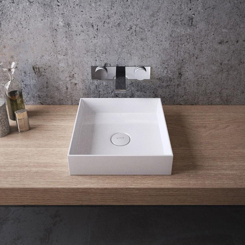 Накладная раковина в ванной: формы, материалы изготовления, критерии выбора и особенности установки накладной раковины на столешницу в ванной
