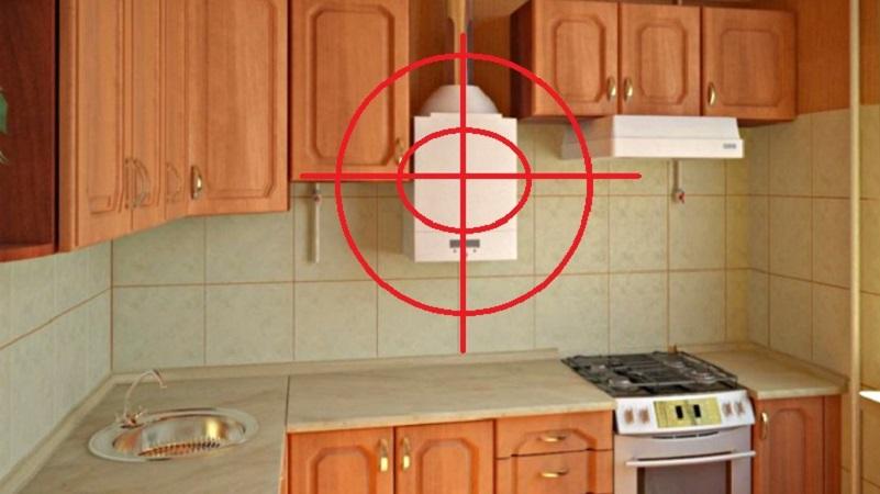 Как спрятать газовую трубу на кухне: требования, варианты, установка короба