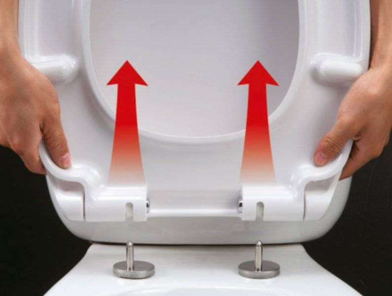 Крепление крышки для унитаза: видео-инструкция по крепеж у сиденья своими руками, цена, фото